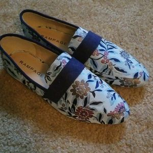 Rampage Floral Flats